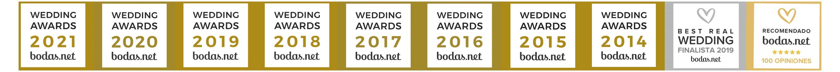 banner wedding awards